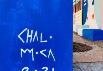 Intervención mural con @chalo-moca